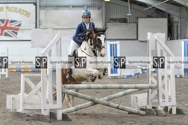 Class 5. Fun Show. Norton Heath Equestrian Centre. Essex. 18/01/2015. MANDATORY Credit Ellie Ingram/Sportinpictures - NO UNAUTHORISED USE - 07837 394578