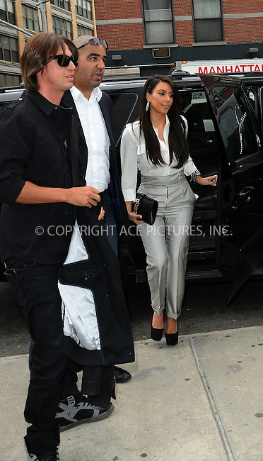 WWW.ACEPIXS.COM . . . . .  ....April 26 2012, New York City....Kim Kardashian steps out of her car with her bodyguard and publicist Jonathan Cheban on April 26 2012 in New York City....Please byline: CURTIS MEANS - ACE PICTURES.... *** ***..Ace Pictures, Inc:  ..Philip Vaughan (212) 243-8787 or (646) 769 0430..e-mail: info@acepixs.com..web: http://www.acepixs.com