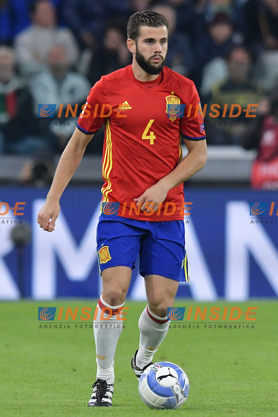 Nacho Spain <br /> Torino 06-10-2016 Juventus Stadium <br /> World Cup Qualifiers Italy - Spain / Italia - Spagna. Foto Andrea Staccioli / Insidefoto