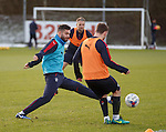 Jon Toral puts in a tackle