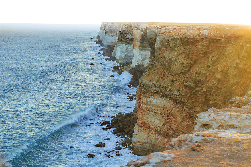 Cliffs on the edge of the Nullarbor Plain. South Australia