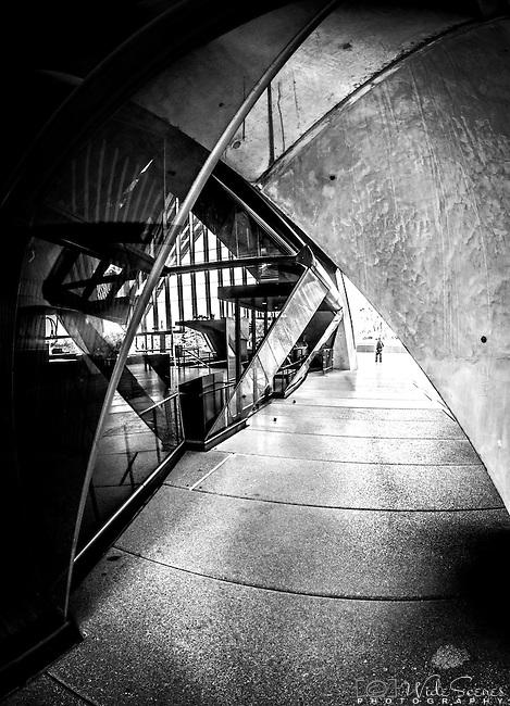 Amongst the arches at Sydney Opera House, Sydney Australia