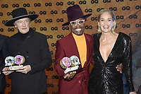 Marius Müller-Westernhagen, Billy Porter and Sharon Stone at the 21st presentation of the GQ Men of the Year Awards 2019 at the Komische Oper. Berlin, November 7, .2019. Credit: Action Press/MediaPunch ***FOR USA ONLY***
