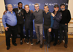 "Ron Melrose, Colman Domingo, Des McAnuff, Robert Gary, Sergio Trujillo, Tommy Mottola and Bruce Sudano attends the Meet & Greet for ""Summer: The Donna Summer Musical"" on March 8, 2018 at the New 42nd Street Studios,  in New York City."