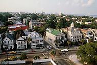 December 1976. Americus, Georgia. Views of downtown Americus.