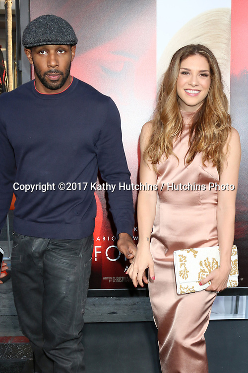"""LOS ANGELES - APR 18:  Stephen Boss, Allison Holker at the """"Unforgettable"""" Premiere at TCL Chinese Theater IMAX on April 18, 2017 in Los Angeles, CA"""