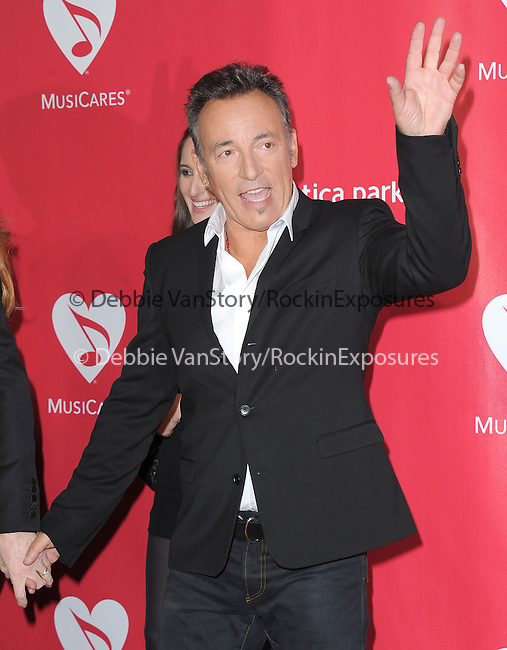 Bruce Springsteen at The MusiCares® 2013 Person Of The Year Tribute held at The Los Angeles Convention Center, West Hall in Los Angeles, California on February 08,2013                                                                   Copyright 2013 Hollywood Press Agency