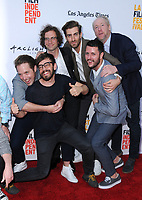 "16 June 2017 - Hollywood, California - Beck Bennett, Jorma Taccone, Kyle Mooney, Dave McCary, Kevin Costello, Matt Walsh. LA Film Festival screening of ""Brigsby Bear"" held at ArcLight Hollywood in Hollywood. Photo Credit: Birdie Thompson/AdMedia"