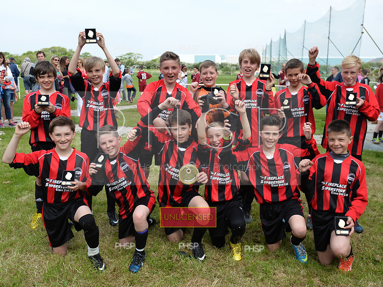 1805/2014 BDYFL Plate Final 2014 U-12 Layton Juniors v  Poulton Youth <br /> <br /> &copy;  Phill Heywood