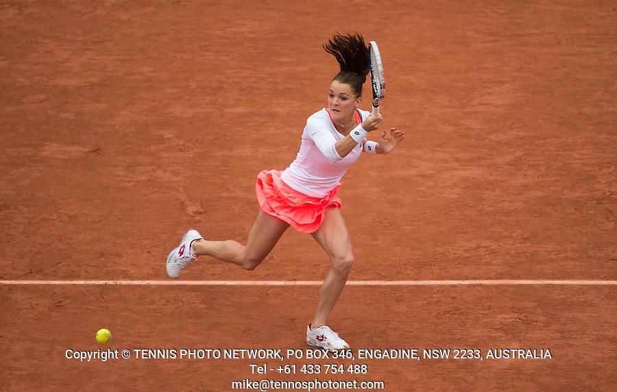 AGNIESZKA RADWANSKA (POL)<br /> <br /> TENNIS - FRENCH OPEN - ROLAND GARROS - ATP - WTA - ITF - GRAND SLAM - CHAMPIONSHIPS - PARIS - FRANCE - 2016  <br /> <br /> <br /> <br /> &copy; TENNIS PHOTO NETWORK