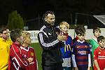 McDonalds Football ambassador Ryan Giggs visiting Hollywell Town Football Club.<br /> 17.11.15<br /> &copy;Steve Pope-Sportingwales