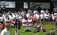 29th November 2019, Hamilton, New Zealand; Englands Barmy Army on day 1 of the 2nd international cricket test match between New Zealand and England at Seddon Park, Hamilton, New Zealand. Friday 29 November 2019