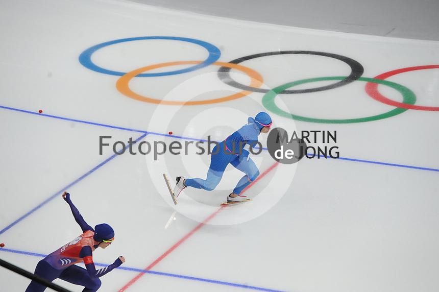 OLYMPIC GAMES: PYEONGCHANG: 18-02-2018, Gangneung Oval, Long Track, 500m Ladies, Francesca Bettrone (ITA), ©photo Martin de Jong