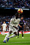 Vinicius Junior of Real Madrid in action during the La Liga 2018-19 match between Real Madrid and Real Valladolid at Estadio Santiago Bernabeu on November 03 2018 in Madrid, Spain. Photo by Diego Souto / Power Sport Images