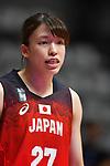 Saki HayashI (JPN), <br /> AUGUST 15, 2018 - Basketball : Women's Qualification round match between Hong Kong 44-121 Japan at Gelora Bung Karno Basket Hall A during the 2018 Jakarta Palembang Asian Games in Jakarta, Indonesia. <br /> (Photo by MATSUO.K/AFLO SPORT)