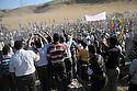 Iraq 2009 .Iraqi supporters of the PKK film the guerillas as they walk to the border with Turkey..Irak 2009 .Les sympathisants du PKK filment les combattants du PKK qui vont traverser la frontiere allant en Turquie.