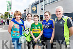 Pictured at the All-Ireland football semi-final Kerry v Dublin in Croke Park on Sunday were l-r: Caitriona, Sarah, Mark, Jessica and Paudie Donoghue, Farranfore, Killarney