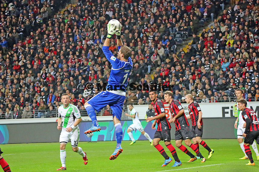 Kevin Trapp (Eintracht)  - Eintracht Frankfurt vs. VfL Wolfsburg, Commerzbank Arena