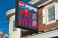 Famous Pat's Steaks, South Philly, Philadelphia, USA