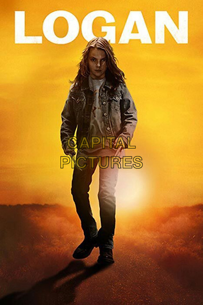 Logan (2017) <br /> Promotional art with Dafne Keen<br /> *Filmstill - Editorial Use Only*<br /> CAP/KFS<br /> Image supplied by Capital Pictures