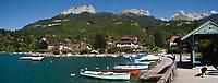 Europe/France/Rhône-Alpes/74/Haute-Savoie/Talloires: les bords du Lac d'Annecy