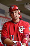 21 May 2006: Ryan Zimmerman, third baseman for the Washington Nationals, in the dugout during a game against the Baltimore Orioles at RFK Stadium in Washington, DC. The Nationals defeated the Orioles 3-1 to take 2 of 3 games in their first inter-league series...Mandatory Photo Credit: Ed Wolfstein Photo..