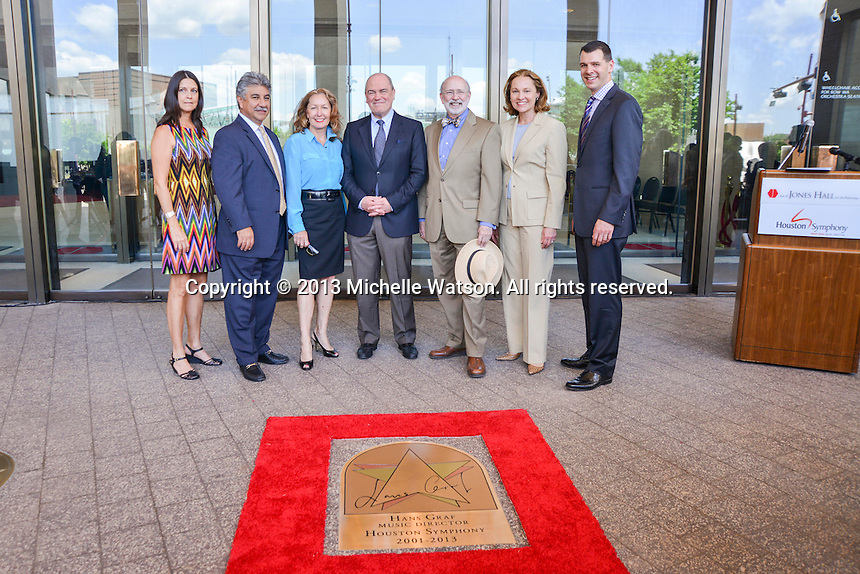 Houston Symphony & City of Houston present Gold Star for Hans Graf at Jones Hall
