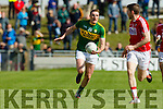 Brendan O'Sullivan Kerry in action against  Cork in the National Football league in Austin Stack Park, Tralee on Sunday.