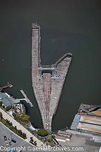 aerial photograph Pier 52 San Francisco, California