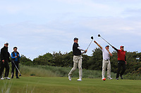 Martin Vorster (RSA) on the 18th tee during Round 4 of The East of Ireland Amateur Open Championship in Co. Louth Golf Club, Baltray on Monday 3rd June 2019.<br /> <br /> Picture:  Thos Caffrey / www.golffile.ie<br /> <br /> All photos usage must carry mandatory copyright credit (© Golffile | Thos Caffrey)