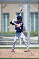 Minnesota Twins Colton Waltner (18) during a Minor League Spring Training game against the Tampa Bay Rays on March 15, 2018 at CenturyLink Sports Complex in Fort Myers, Florida.  (Mike Janes/Four Seam Images)