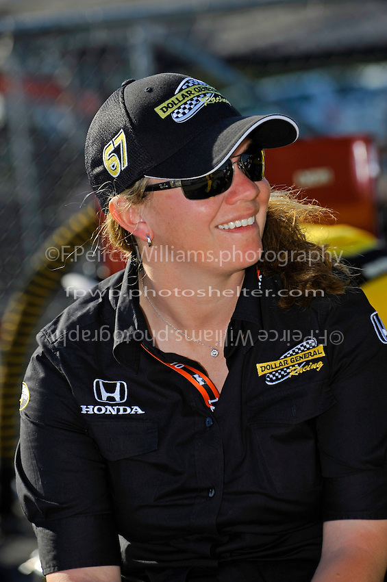 Owner/driver Sarah Fisher