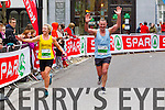 Cathy Quilter, 300 and Pat Sheehy, 325 who took part in the 2015 Kerry's Eye Tralee International Marathon Tralee on Sunday.