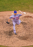 27 July 2013: New York Mets pitcher Josh Edgin on the mound against the Washington Nationals at Nationals Park in Washington, DC. The Nationals defeated the Mets 4-1. Mandatory Credit: Ed Wolfstein Photo *** RAW (NEF) Image File Available ***