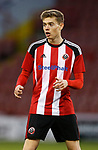 Jake Ford of Sheffield Utd during the Professional Development League play-off final match at Bramall Lane Stadium, Sheffield. Picture date: May 10th 2017. Pic credit should read: Simon Bellis/Sportimage