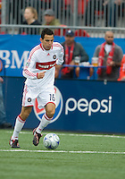 16 May 09: Chicago Fire midfielder Marco Pappa #16 in action at BMO Field during a game between the Chicago Fire and Toronto FC..Chicago Fire won 2-0..
