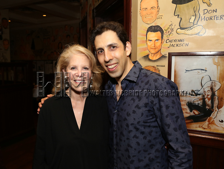 Daryl Roth and Vitaly Beckman attend the Off-Broadway Opening Night After Call for 'Vitaly: An Evening of Wonders' at The Palm Restaurant on June 20, 2018 in New York City.