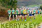 Action from the start of the men's U19's, Intermediate & Masters Race held in Cahersiveen on Sunday.