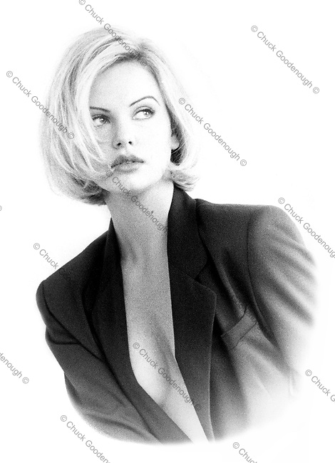 Charlize Theron Portrait 1994