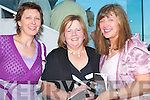 NIGHT AT THE DOGS: Having a great night at the Lee Strand evening of racing at the Kingdom Greyhound Stadium on Friday night l-r: Eilleen Devane, Milltown, Kathleen Fleming, Currow and Mary O'Mahoney, Tralee.   Copyright Kerry's Eye 2008