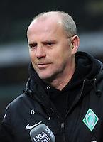 FUSSBALL   1. BUNDESLIGA   SAISON 2012/2013    22. SPIELTAG SV Werder Bremen - SC Freiburg                                16.02.2013 Trainer Thomas Schaaf (SV Werder Bremen)