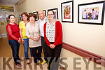 Pictured at the opening of a Photo Documentary by photographer Michael Herrmann in St Anne's Hospital, Cahersiveen of Arts & Craft activities held in the hospital supported by Kerry ETB & the HSE, pictured l-r; Michelle Anne Houlihan(Kerry ETB), Róisín Ní Chionnfhaolaidh(Art Tutor), Ena Sweeney(Art Tutor), Michael Herrmann & Noirín Donnelly(Matron).