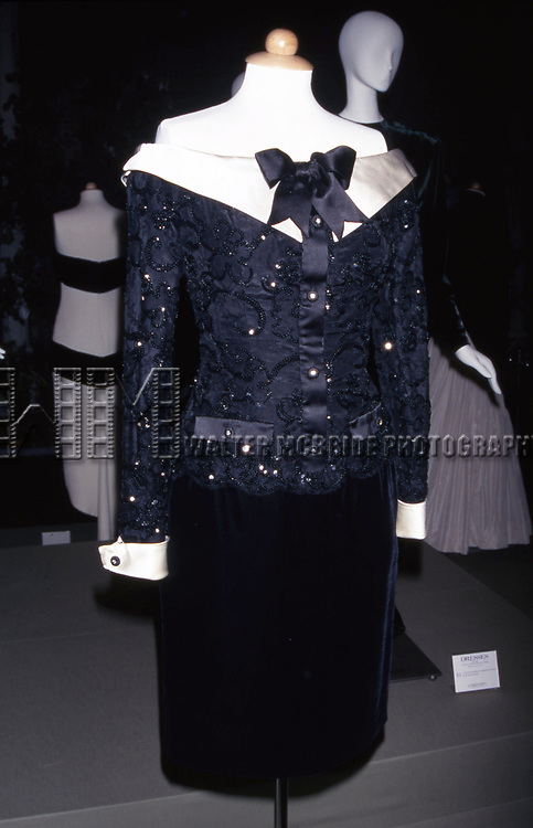 Designer Lorcan Mullany - Collection of Princess Diana 'Dresses' Auction to Benefit the Royal Marsden Hospital Cancer Fund and Aids Crisis on June 18, 1997 at Christies in New York City.