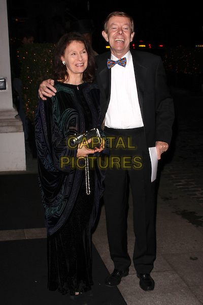 GUEST & HENRY KELLY .At the Inspirational Women Of The Year Awards, Marriott Hotel, Grosvenor Square, London, England, UK, November 23rd 2010..full length black tuxedo tux bow tie .CAP/AH.©Adam Houghton/Capital Pictures.