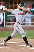 July 10, 2009:  Mark Fleury 2009 4th round draft pick of the Billings Mustangs, Rookie Class-A affiliate of the Cincinnati Reds, during a game at the Orem Owlz Ballpark in Orem, UT. Photo by: Matthew Sauk/Four Seam Images