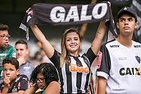 BELO HORIZONTE, MG, 14.04.2019:CRUZEIRO-ATLETICO - em lance durante partida entre Cruzeiro e Atletico, válida pelo jogo de ida das finais do campeonato mineiro 2019,  no Estadio Mineirão em Belo Horizonte, MG, na tarde deste domingo (14) (foto Giazi Cavalcante/Codigo19)