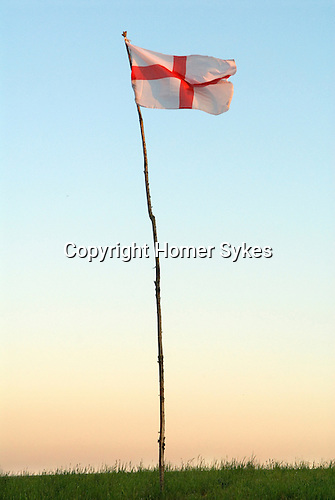 Flag of St George Wiltshire UK