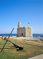 Spain, Balearic Islands, Menorca, Ciutadella: St. Nicholas Watch-tower | Spanien, Balearen, Menorca, Ciutadella: St. Nicholas Wachturm
