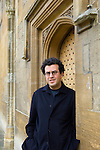 Hisham Matar at Christ Church during the Sunday Times Oxford Literary Festival, UK, 2-10 April 2011. <br />