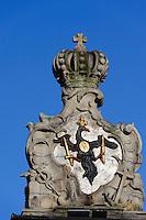 Stadttor in Jelenia Gora (Hirschberg), Woiwodschaft Niederschlesien (Wojew&oacute;dztwo dolnośląskie), Polen, Europa<br /> City Gate in Jelenia Gora, Poland, Europe